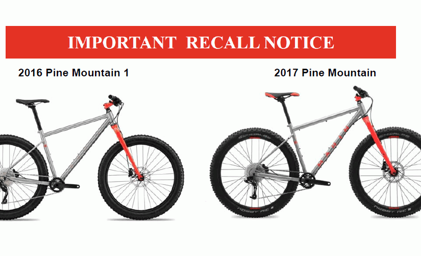 Product Recall: Marin Bikes calls back two mountain bikes